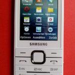 Das Tastenhandy S5611 von Samsung