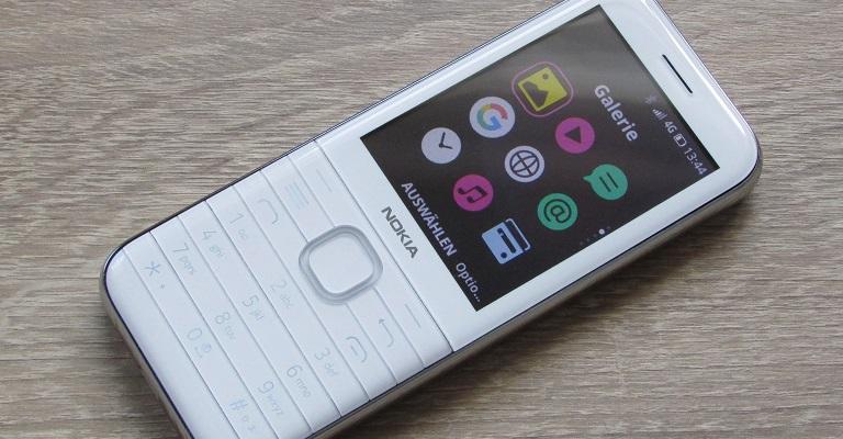 So sieht das Nokia 8000 4G aus.